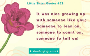 Quotes About Little Sisters