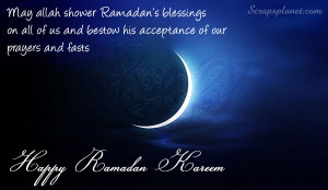 Ramadan Mubarak To All of You
