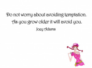 Avoiding Temptation Printable Quotes