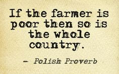 Strawberry Hill Farm & Garden's favorite quotes about farming life ...
