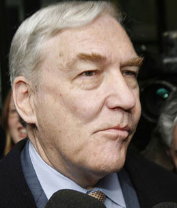 Conrad Black, CEO of Hollinger International Inc.
