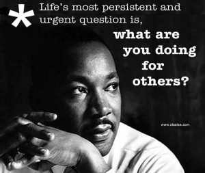 Life Thoughts-Quotes-Martin Luther King Jr-Persistent-Question