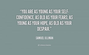 Self Confidence Quotes...