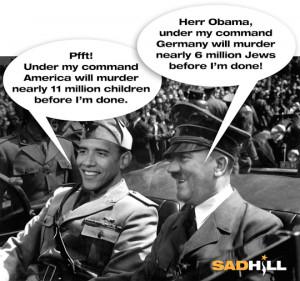 obama hitler time magazine abortion killing children exterminating ...