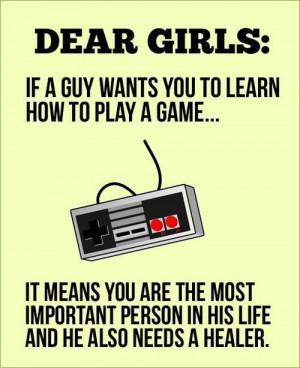 ... girl cute quote cartoon comic nintendo video games sweet gamer