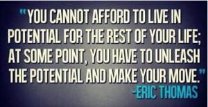 Eric Thomas Success Quotes