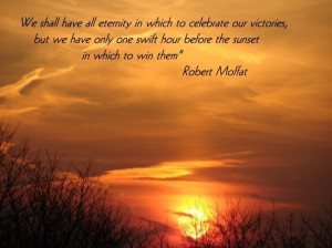 The Capture Of Beautiful Twilight In The Sky With Quote