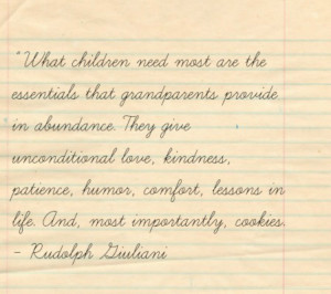 Today is Grandparents Day + Quotes and Love Advice