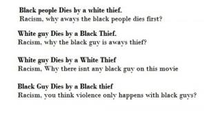 black people movies typography jokes