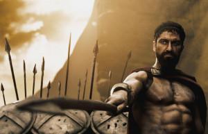 King Leonidas in 300, the movie