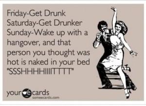 Get drunk and drunker