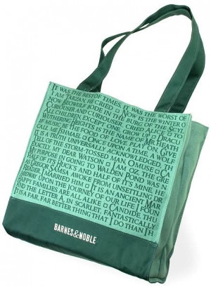 Barnes & Noble Quotes Tote Bag