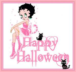 Betty Boop Halloween Ecards