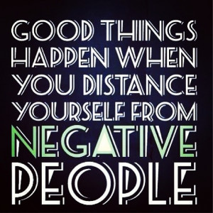 Savvy Quote: Good Things Happen When You Distance Yourself…