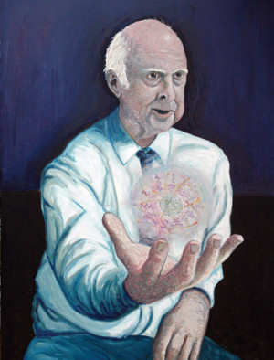 MAN AND EPONYM Peter Higgs the University of Edinburgh physicist who