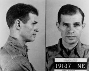 Alger Hiss in Lewisburg Federal Penitentiary