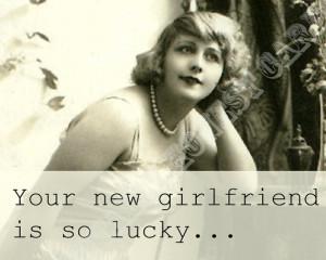 Ex Has Stupid New Girlfriend. Funny Ex Husband Card. Snarky Ex Husband ...