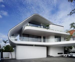 Maison d'architecte atypique à Singapour