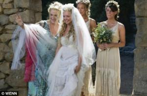 mamma mia movie wedding scene