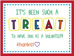 YUMMY {& easy} parent volunteer gift!
