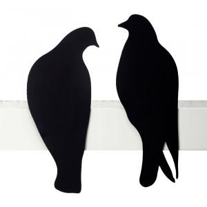 two love bird silhouette