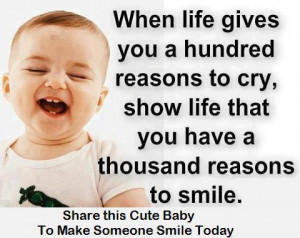 Happiness Quotes hundred cry thousand smile