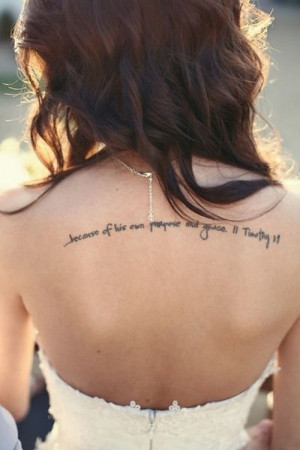 This entry was tagged Quotes Tattoos for Women . Bookmark the ...