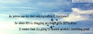 Arrow Quote Birds Profile Facebook Covers