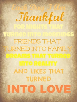 Thankful Quote Printable
