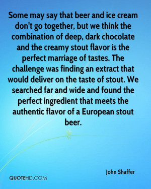 Some may say that beer and ice cream don't go together, but we think ...