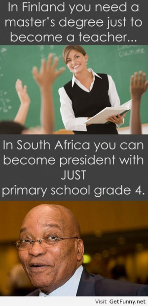 South african poilitics - Funny Pictures, Funny Quotes, Funny ...