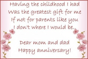 Wedding Anniversary Wishes for Parents: Messages from Children