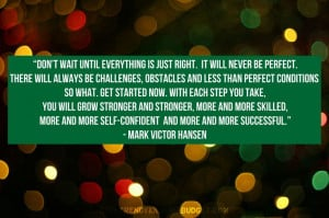 Quote by - Mark Victor Hansen