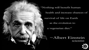 Great Thinkers, a series of vegetarian quotes