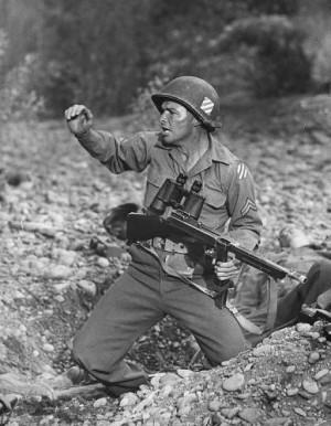 Best Gun Handling Actors: Audie Murphy