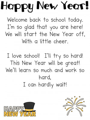 welcome back teacher poem
