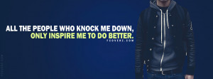 Inspirational Quote Facebook Cover
