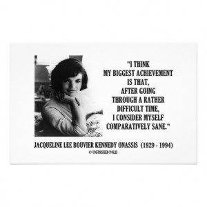 File Name : jacqueline_kennedy_comparatively_sane_quote_stationery ...