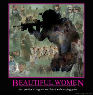 Female Marine Poster