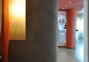Red Hallway Decorating Ideas