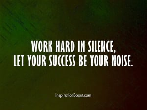 Work Hard for Success Quotes