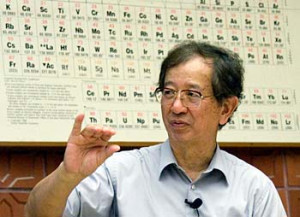 ... Emeritus of Chemistry Yuan T Lee has been elected as the future