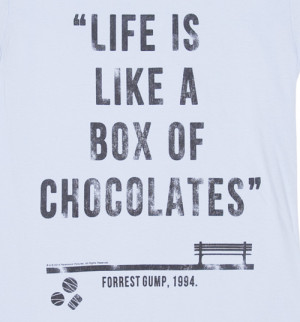 ... > Gallery For > Forrest Gump Life Is Like A Box Of Chocolates Quote