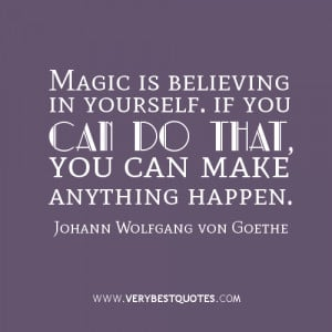 you can do it quotes, magic quotes