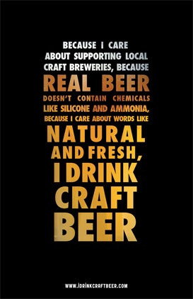 Because We Care about Craft Beer! Read it. Stop drinking Donkey Piss.