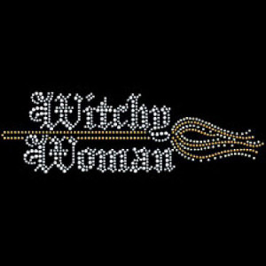 Witchy Woman – Rhinestones – T-Shirt