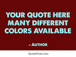 Create your own quote pictures