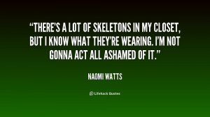 Skeletons In The Closet Quotes