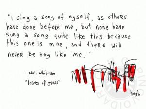 Leaves of Grass* ~ Walt Whitman
