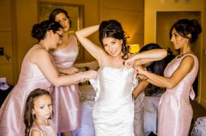 Bride Dressed Undressed Wedding Dresses